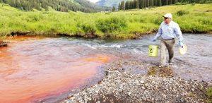 Nutrient flow in a river in Colorado.
